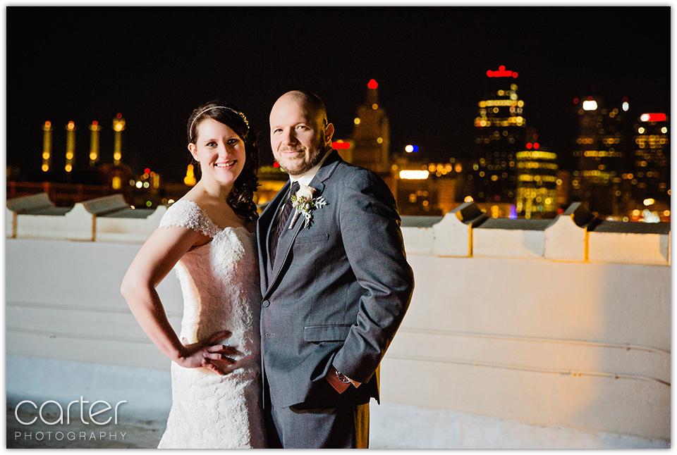 Kansas City Wedding Photographers at the Firestone Building - Carter Photography