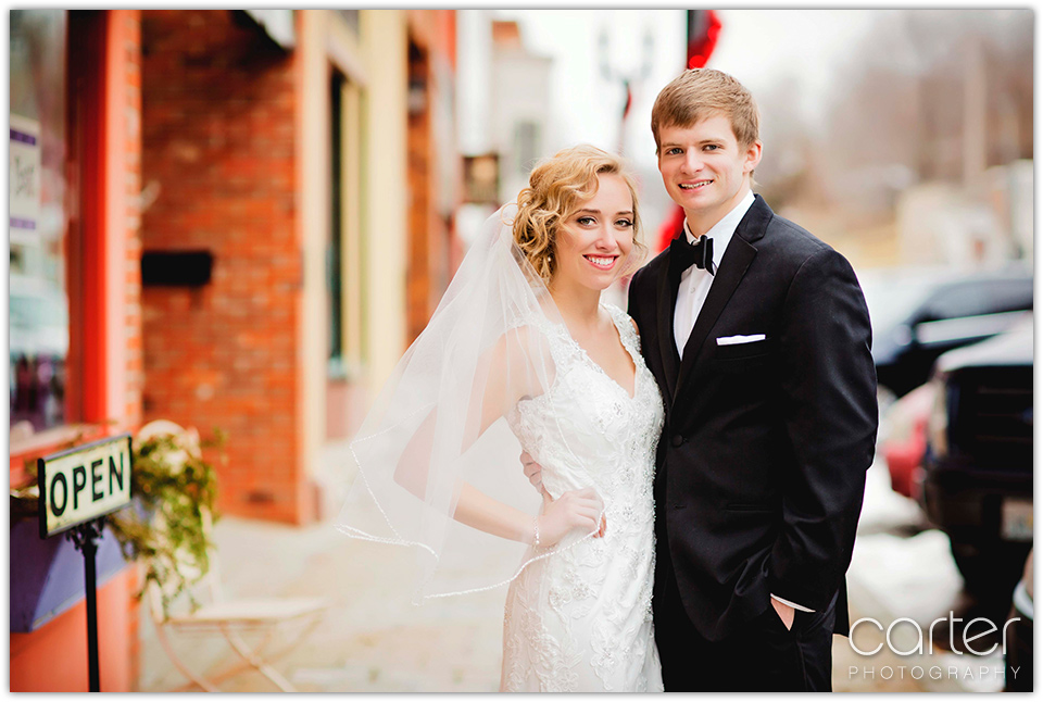 Carter Photography - Kansas City Wedding Photographers at the Berg Event Space