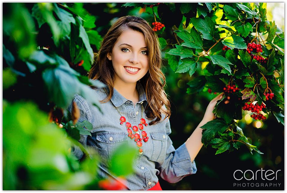 Kansas City Senior Pictures - Carter Photography