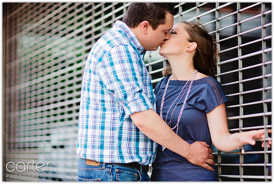 Kansas City Photographers Engagement Session - Carter Photography