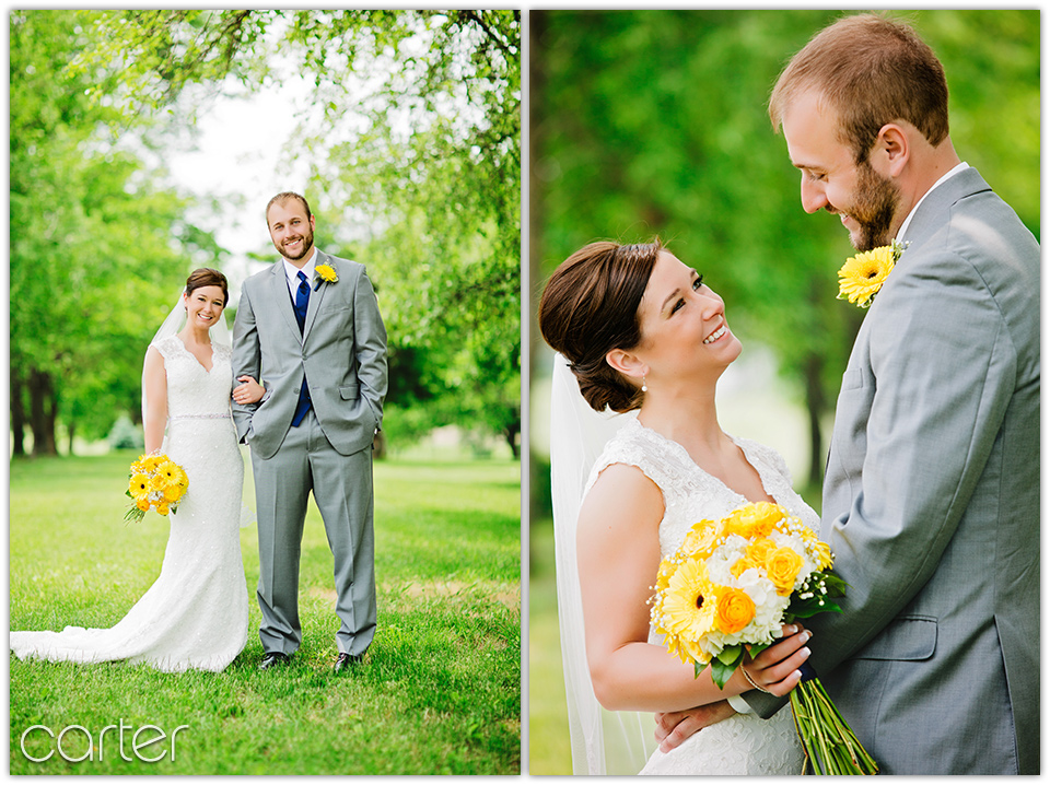 Iowa City Wedding - Old Brick - St. Patrick's - Carter Photography