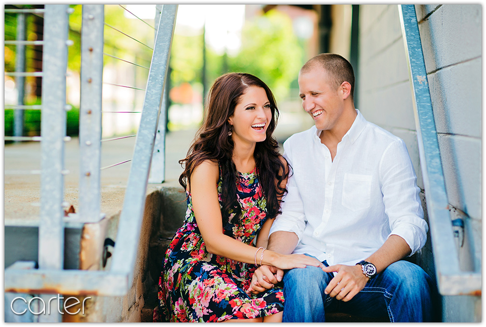 Carter Photography - Kansas City Engagement Session