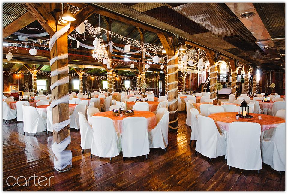 Greg & Megan's Wedding Photos at Bessie's Barn - Carter ...