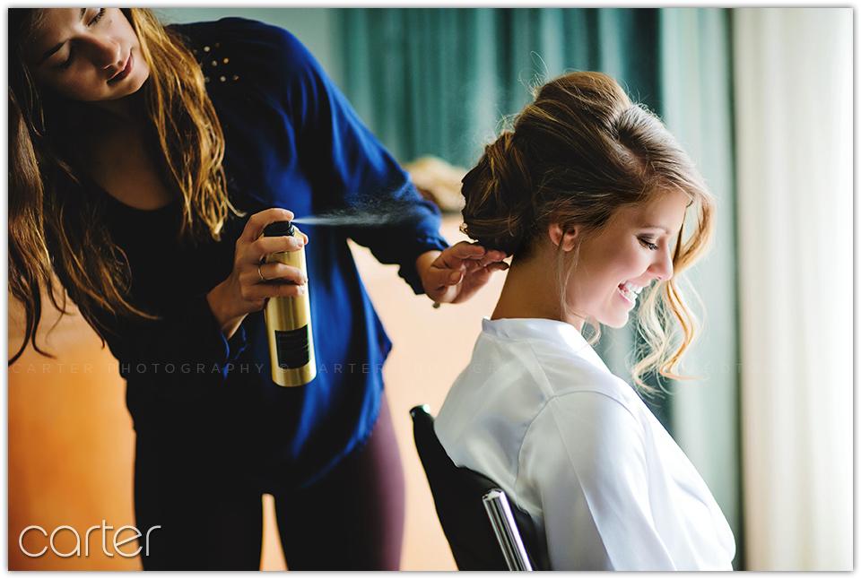 Carter Photography - Kansas City Wedding Photographers at Union Station