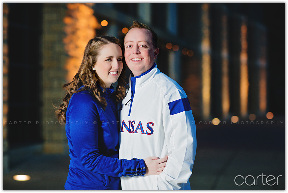 Kansas City Photographers - Carter Photography Lawrence Engagement Session