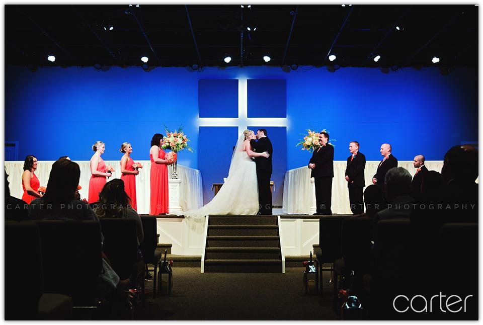 St. Joseph Wedding Photographers Grace Evangelical Church - Carter Photography