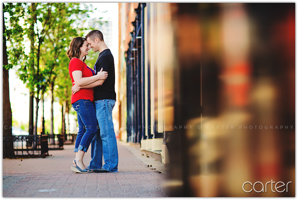 Kansas City Engagement Session Pictures - Carter Photography