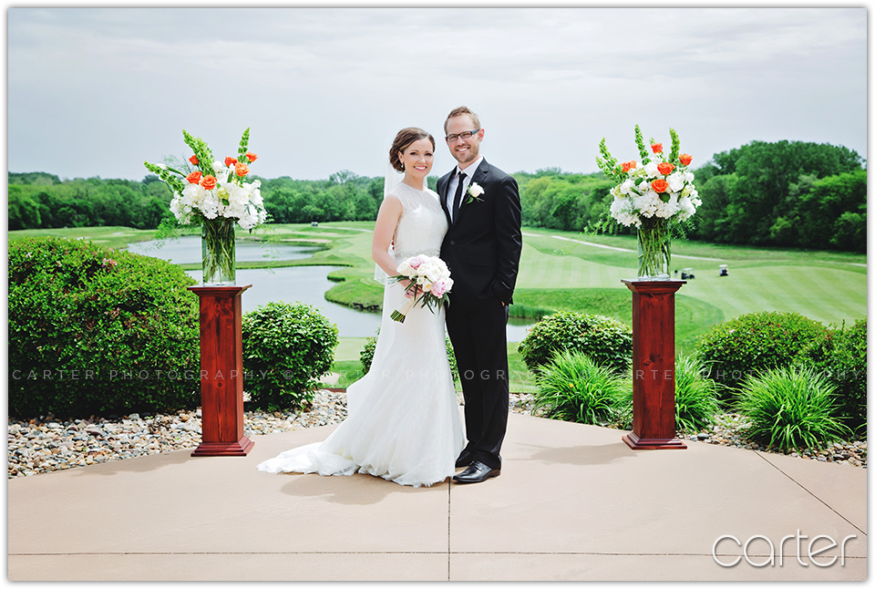 Tournament Club of Iowa Wedding Photographers - Carter Photography