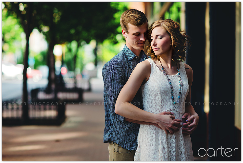 Kansas City Photographers Engagement Session - Carter Photography