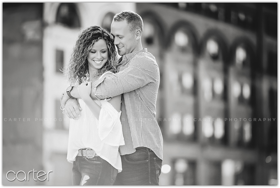 Kansas City West Bottoms Engagement Session - Carter Photography