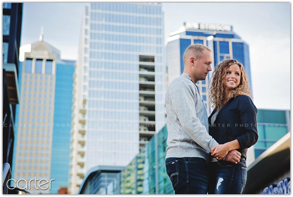 Kansas City P&L Engagement Session - Carter Photography