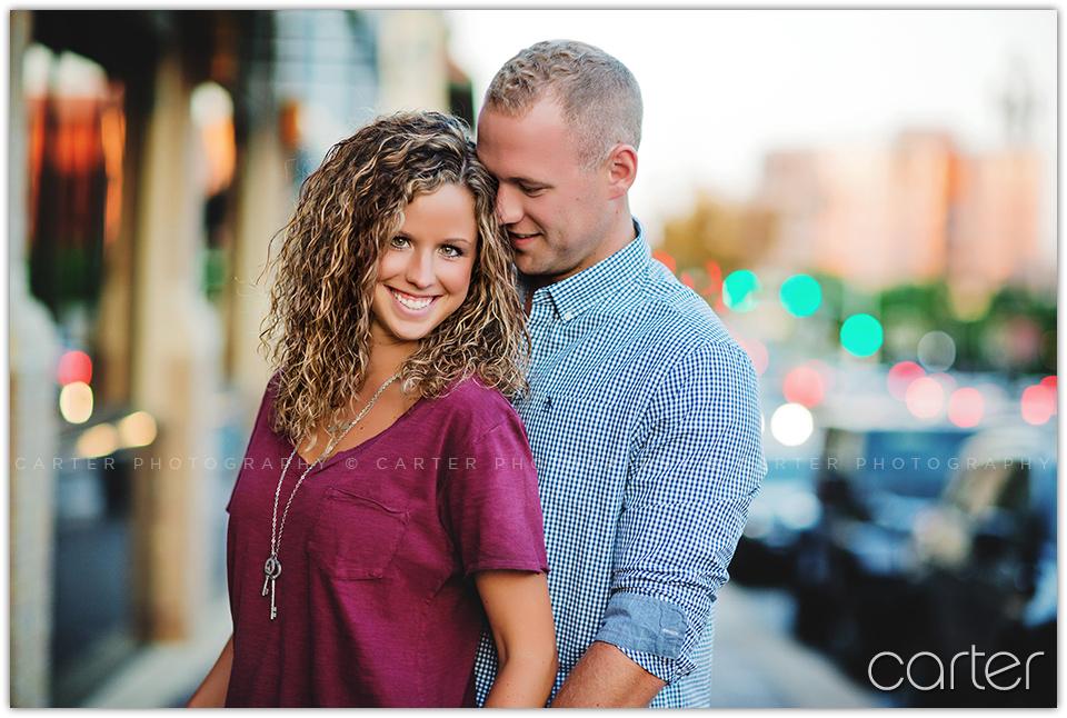 Kansas City Plaza Engagement Session - Carter Photography