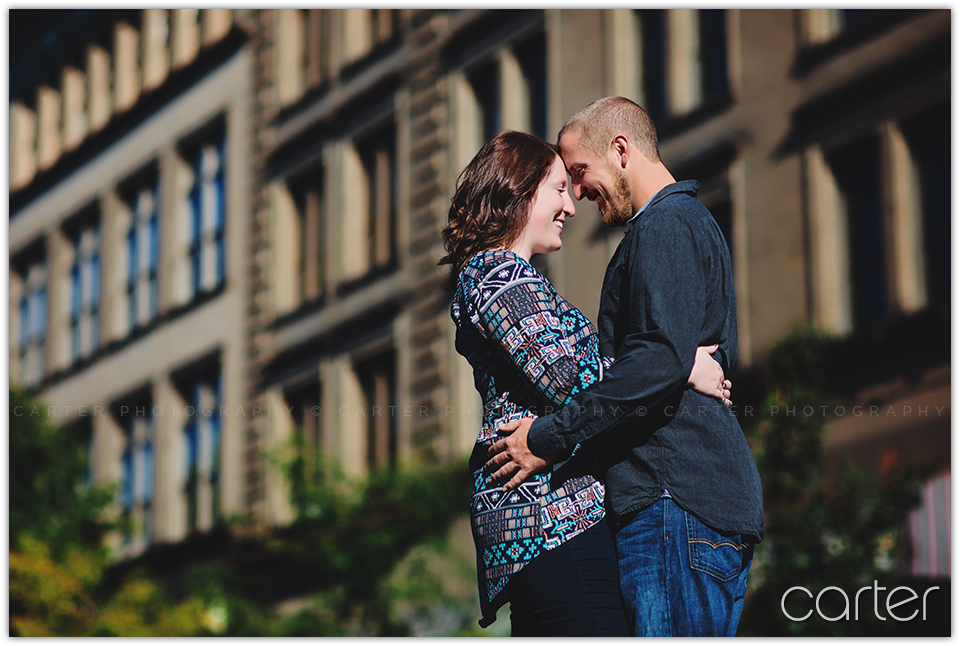 Burlington Iowa Engagement Session Pictures - Carter Photography