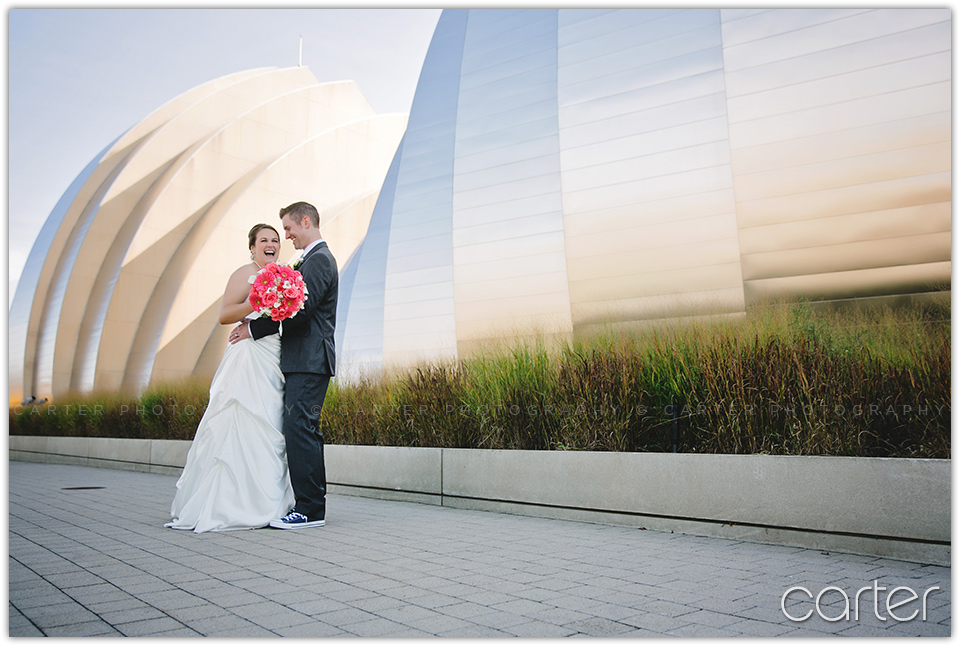 Kansas City Wedding Photographers at Armour Loft - Carter Photography