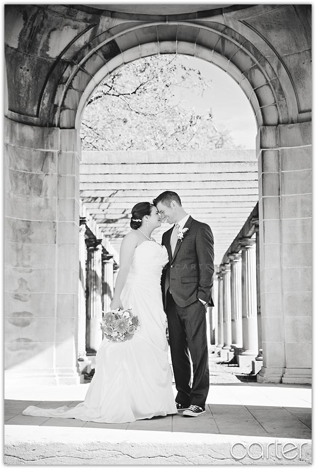 Kansas City Wedding Photographers at Armour Loft - Carter Photography