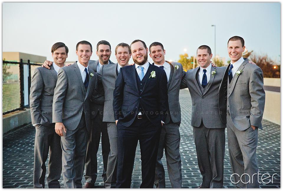 Kansas City Wedding at 2016 Main - Carter Photography
