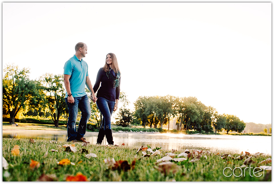 Des Moines Engagement Session Pictures - Carter Photography