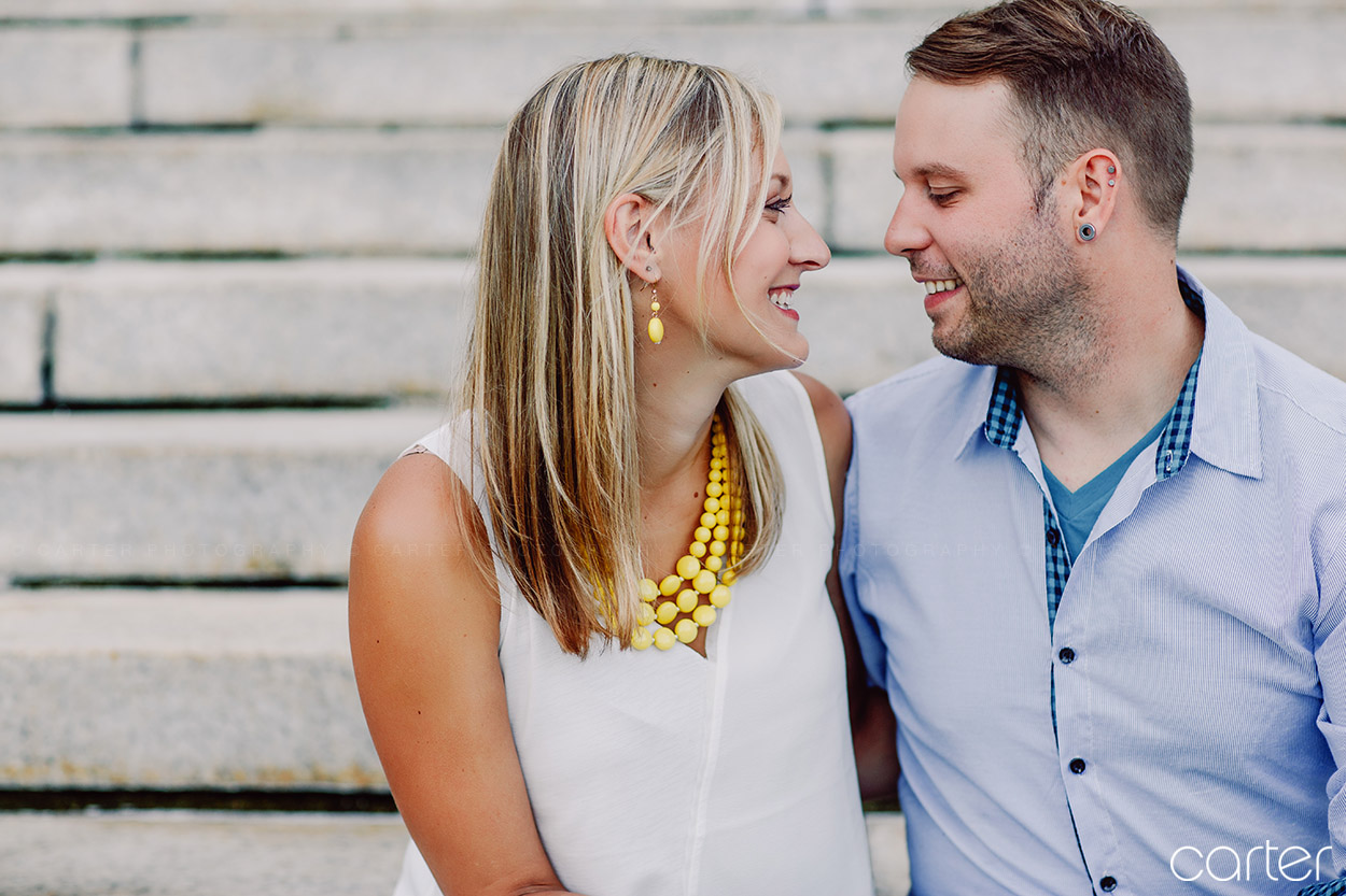 Madison Wisconsin Engagement Pictures Carter Photography