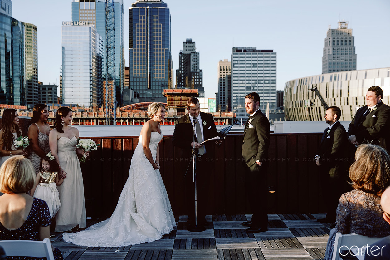 Terrace on Grand Wedding Pictures Kansas City Photographers - Carter Photography