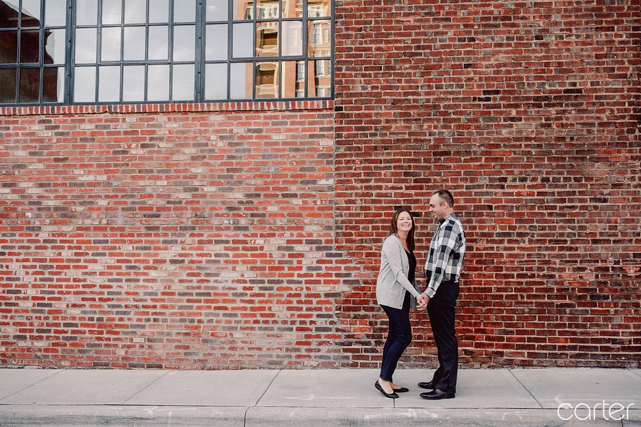 Kansas City Photographers Crossroads Engagement Pictures - Carter Photography