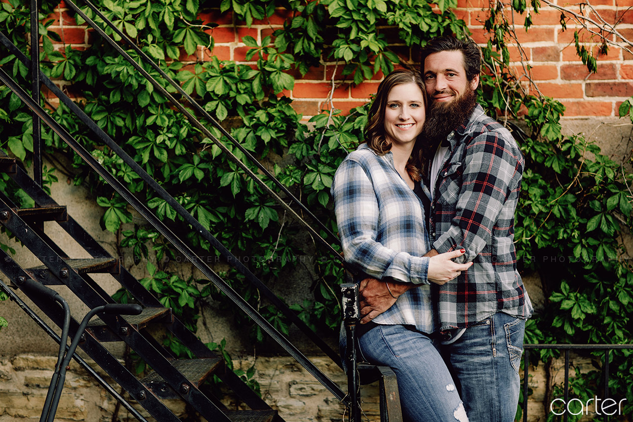 Cedar Rapids Iowa City Engagement Pictures Photographers - Carter Photgraphy
