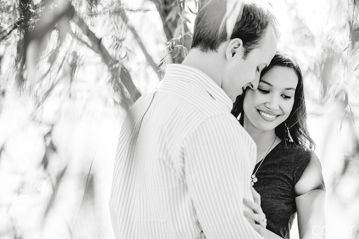 Loose Park Kansas City Engagement Pictures Photographers - Carter Photography