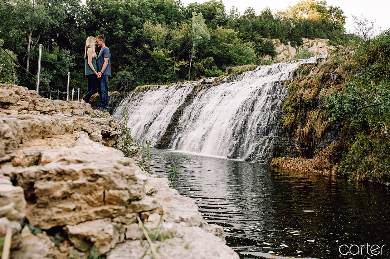 Galena Illinois Engagement Session Pictures - Carter Photography