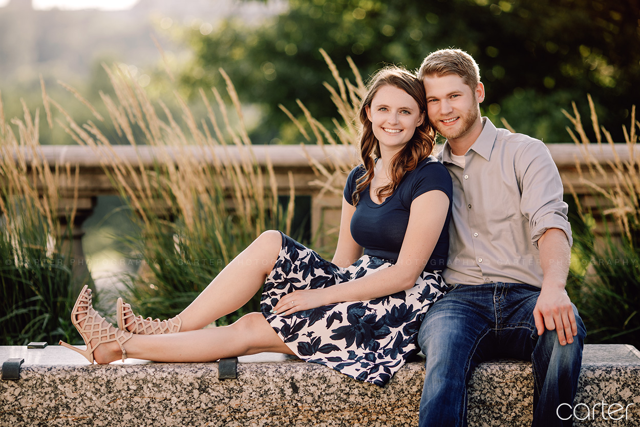 Iowa City University of Iowa Engagement Session Pictures - Carter Photography