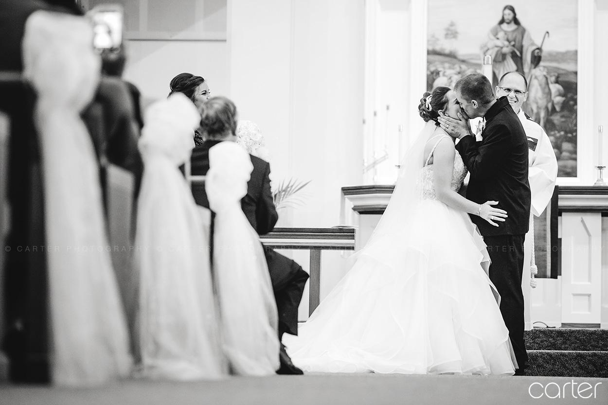 Hotel at Kirkwood Center Wedding Pictures Cedar Rapids Iowa Photographers - Carter Photography