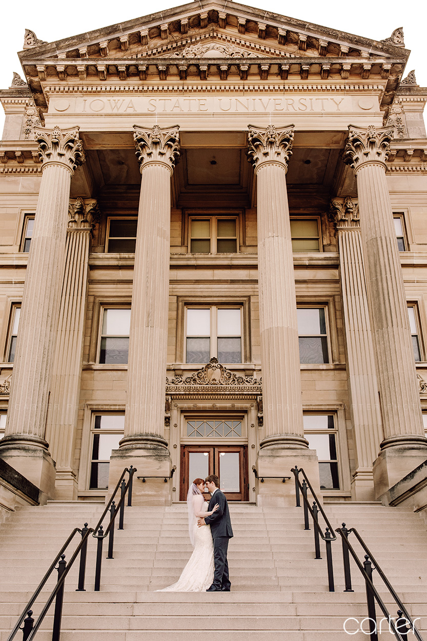 Iowa State University Wedding Pictures Cedar Rapids Photographers - Carter Photography