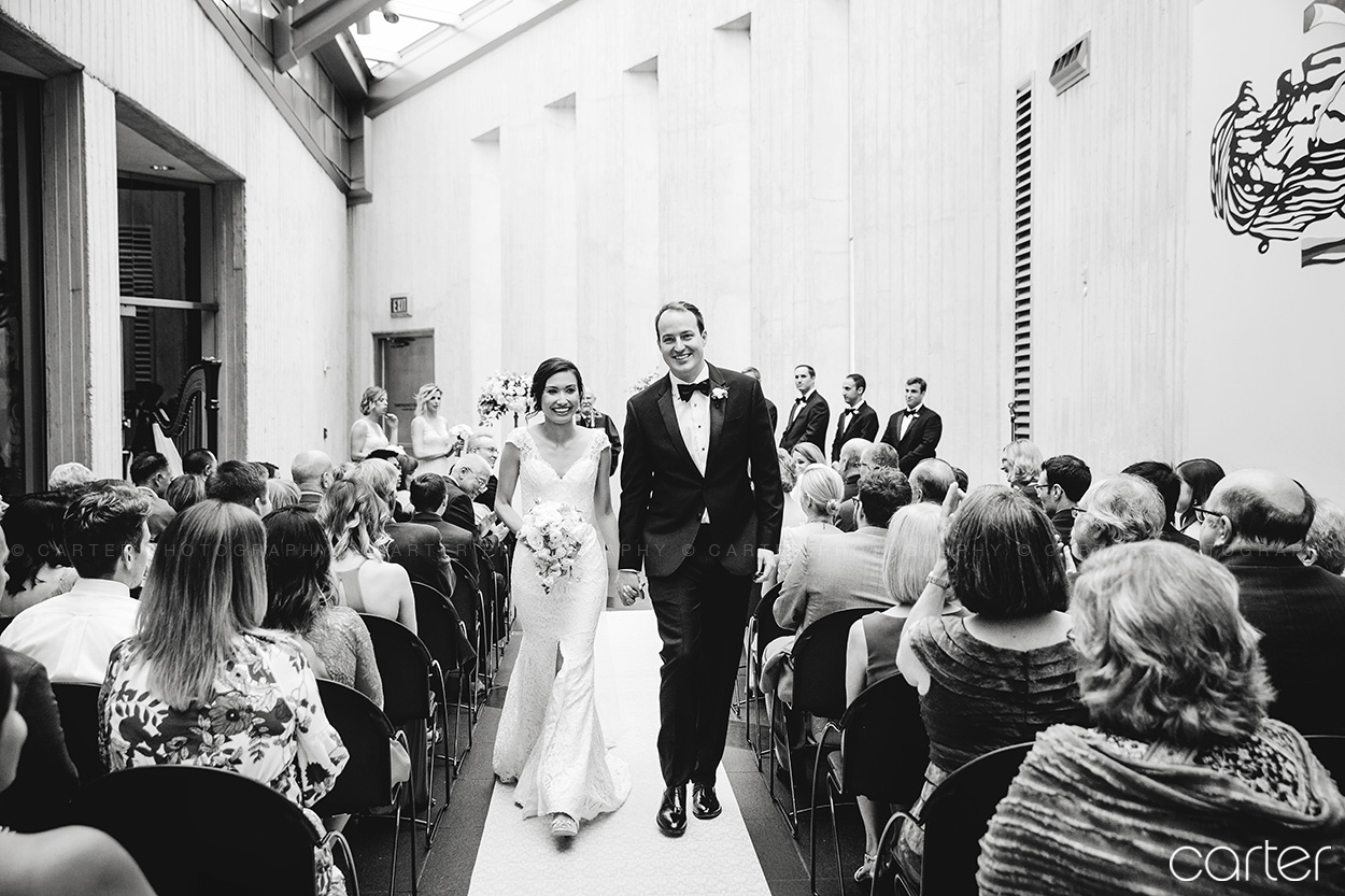 Kemper Museum Wedding Kansas City Photographers Carter Photography