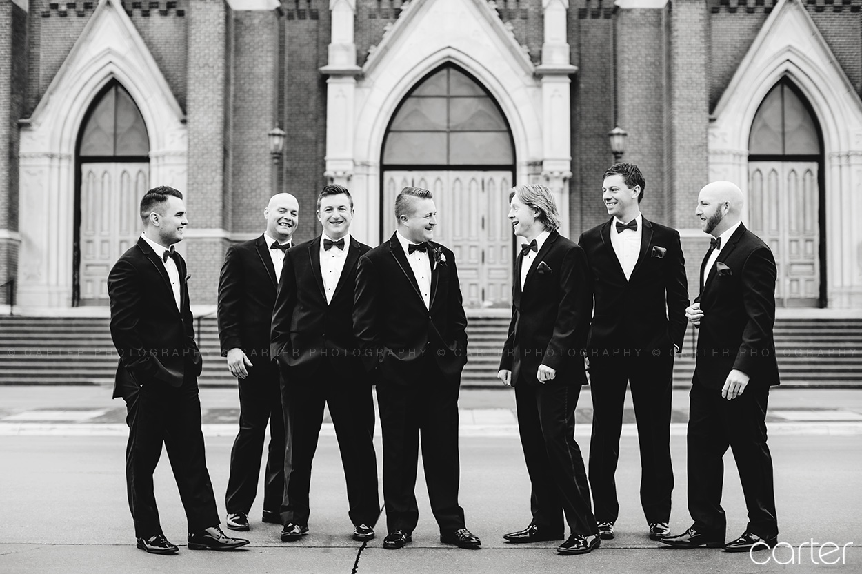 Grand River Center Wedding Pictures Dubuque Iowa Photographers - Carter Photography