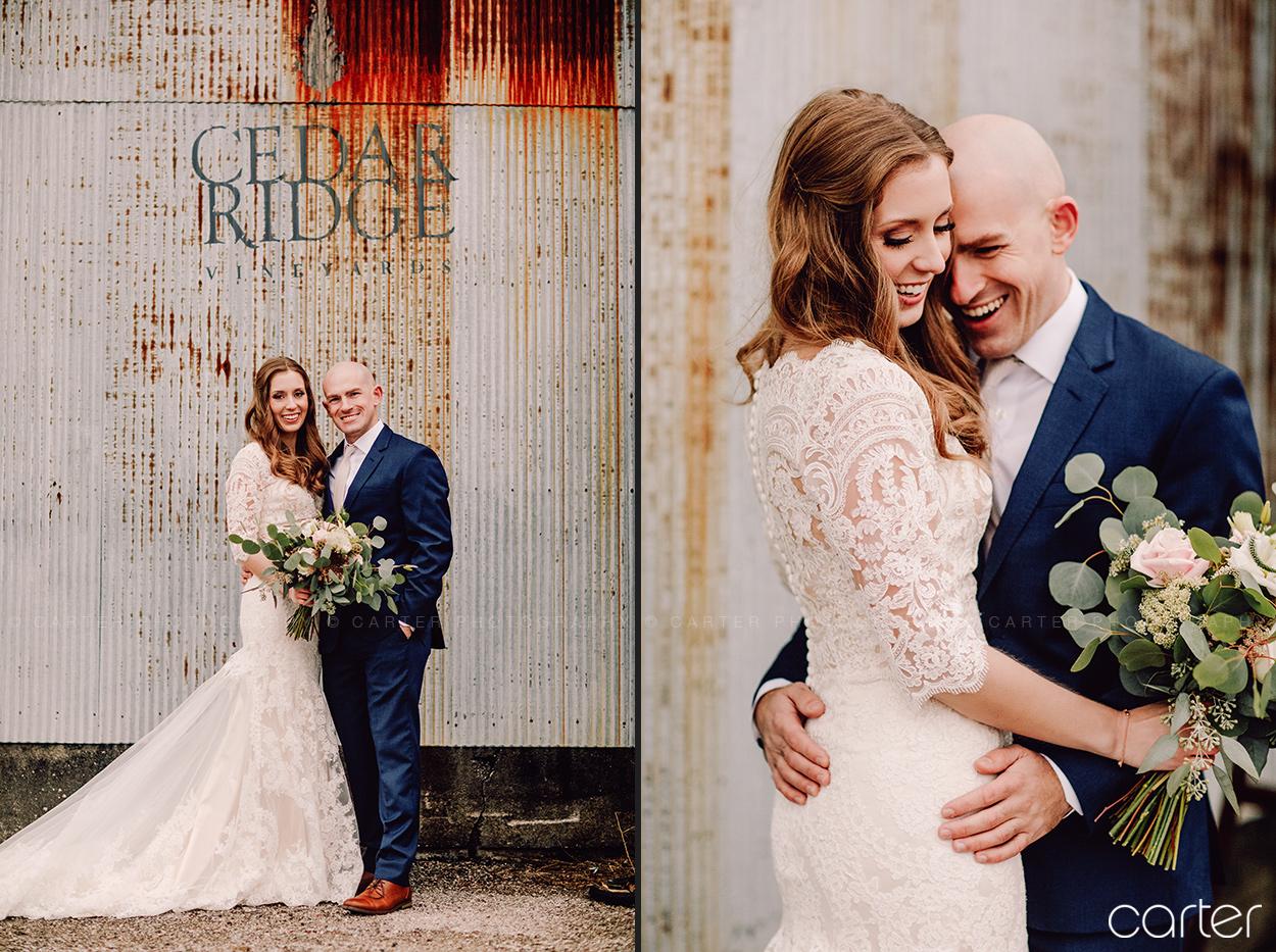 Cedar Ridge Iowa Wedding Photographers Pictures - Carter Photography