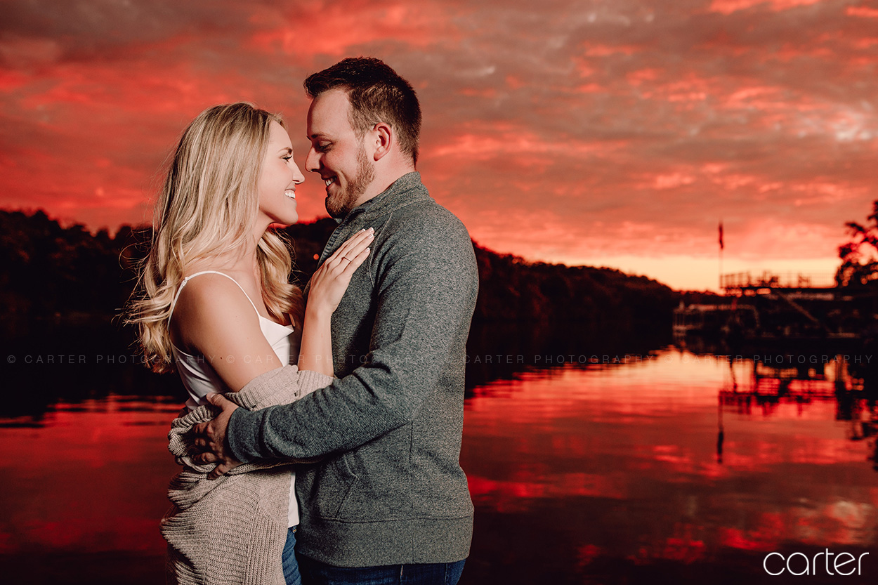 Kansas City Photographers Engagement Session Pictures - Carter Photography