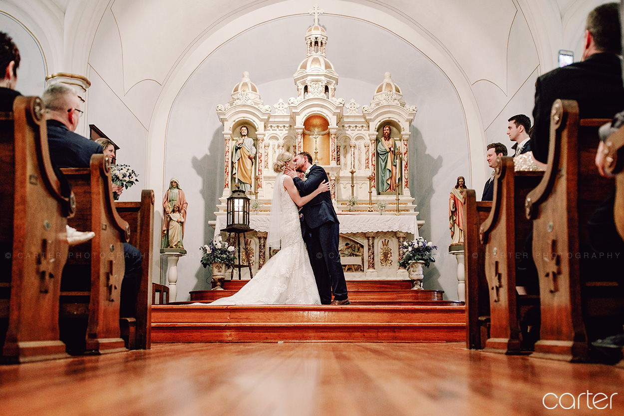 St Peter & Paul Church Wedding Pictures Solon Iowa - Carter Photography