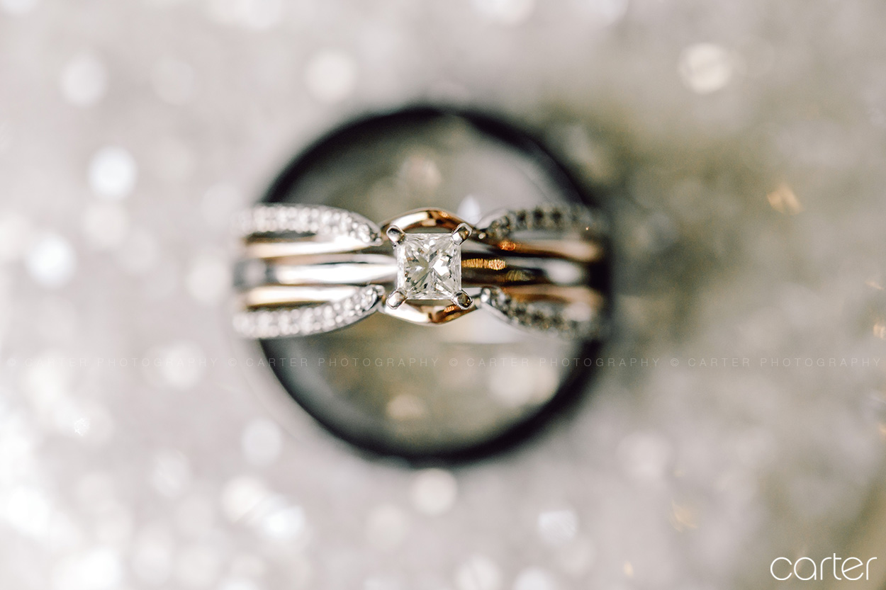 Carter Photography Iowa Wedding Pictures Rings Detail Photo