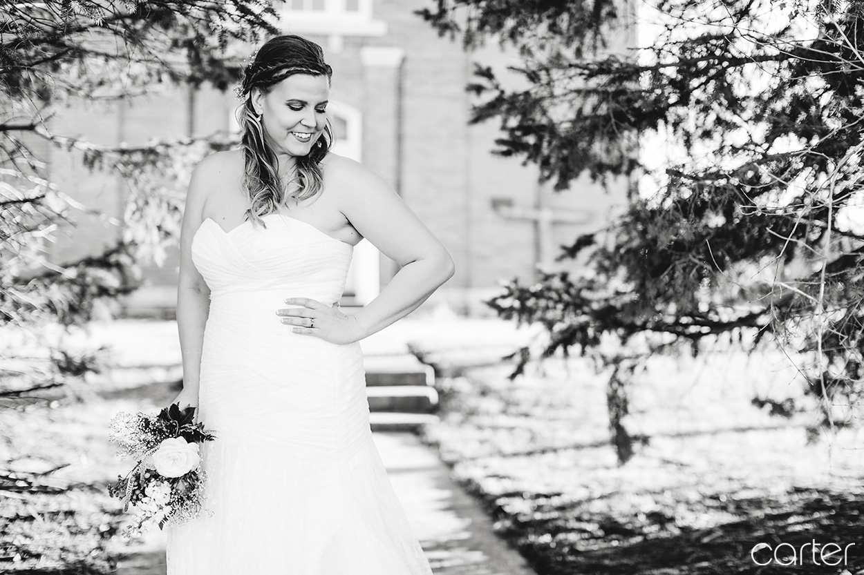 Carter Photography Cedar Rapids Iowa Photographers Wedding Pictures Bride