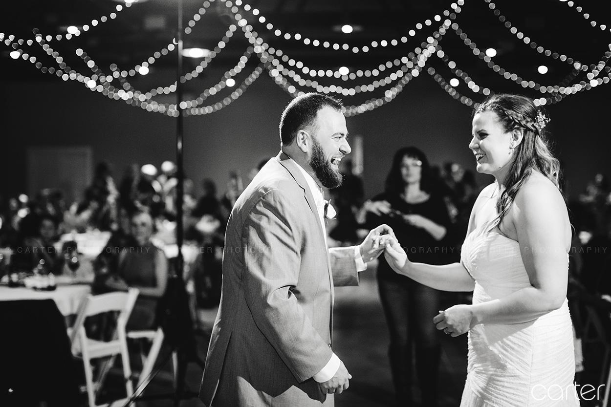 Carter Photography Cedar Rapids Iowa Photographers Airport Rd Vineyard Wedding Reception Pictures First Dance