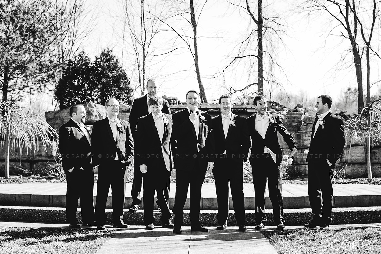 Bella Sala Wedding Pictures Iowa Photographers - Carter Photography