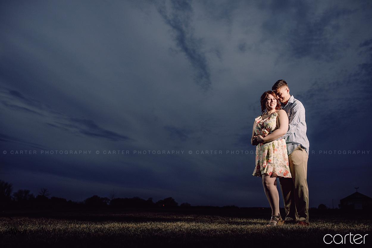 Cedar Rapids Marion Iowa Engagement Pictures - Carter Photography