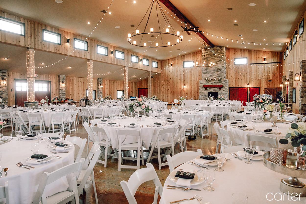 Reception Venue Barn on the Ridge Wedding Pictures Burlington Iowa Carter Photography