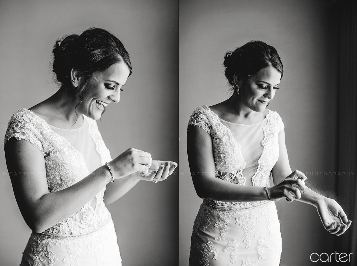 Weston Red Barn Farm Wedding Kansas City Bride Getting Ready Carter Photography
