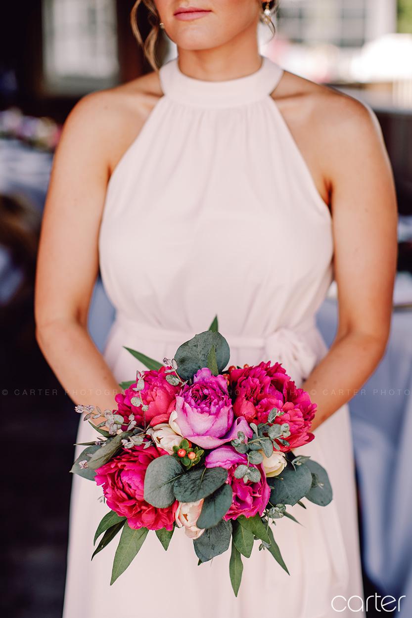 Weston Red Barn Farm Wedding Kansas City Bridesmaids Dresses Flowers Carter Photography