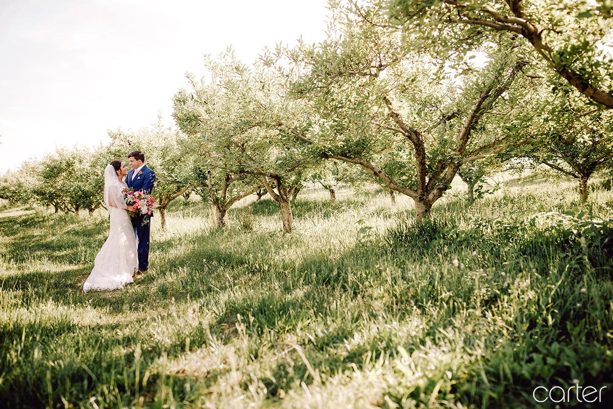 Weston Red Barn Farm Wedding Kansas City Bride Groom Carter Photography