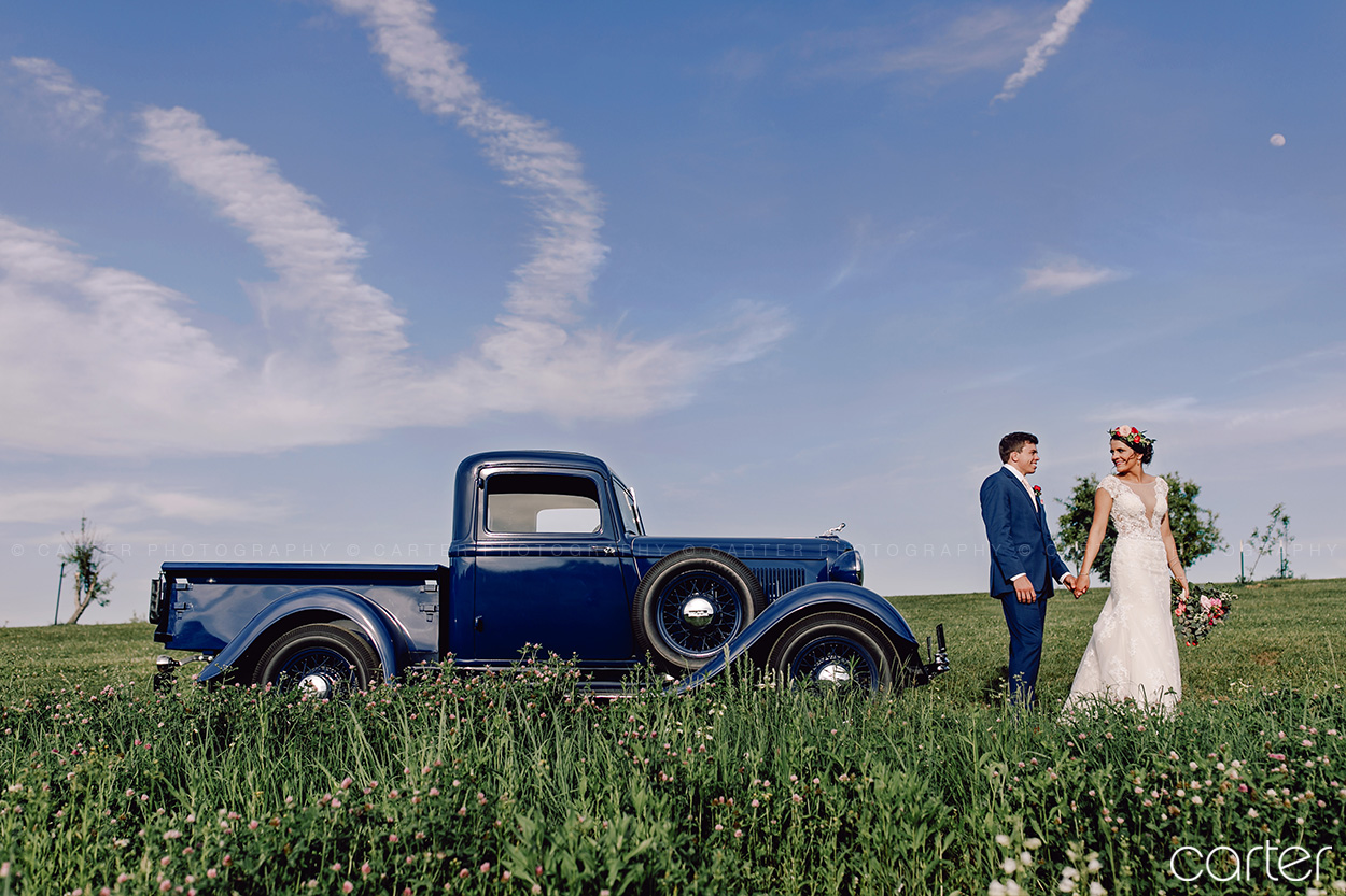 Weston Red Barn Farm Wedding Kansas City Bride Groom Carter Photography