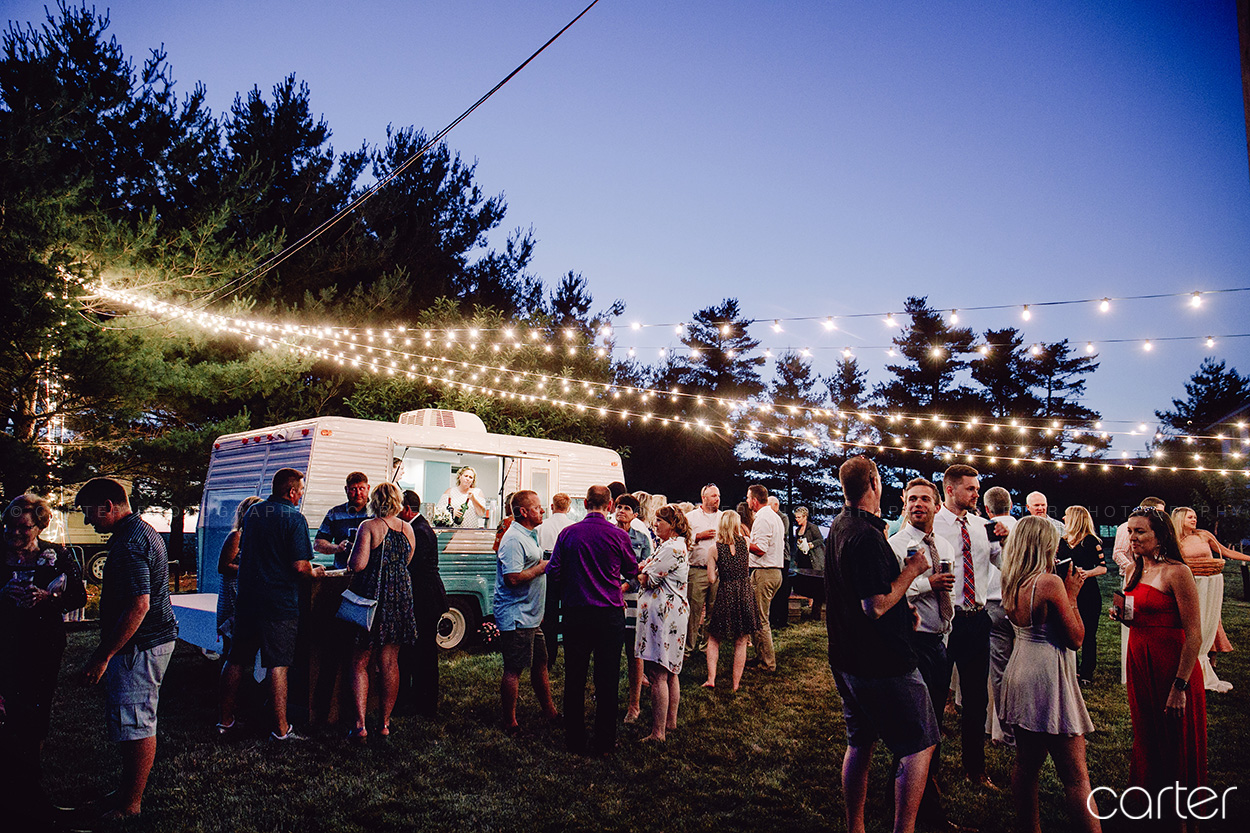 Tented Outdoor Wedding Cedar Rapids Iowa Photographers Carter Photography