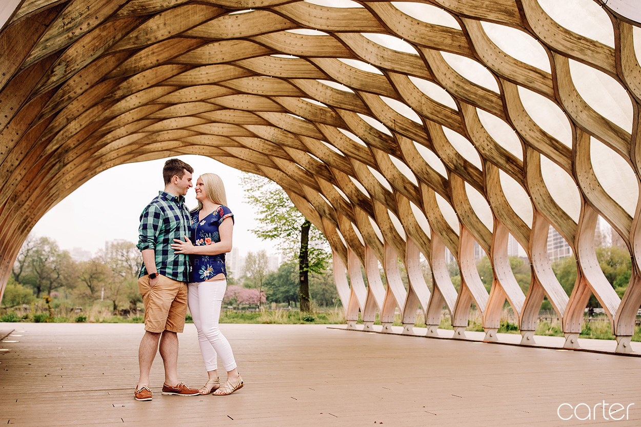 Chicago Engagement Session Pictures Lincoln Park Zoo Carter Photography