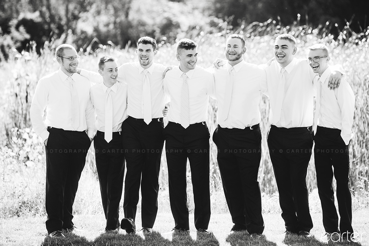 Ashton Hill Wedding Pictures Cedar Rapids Iowa - Photographers Carter Photography