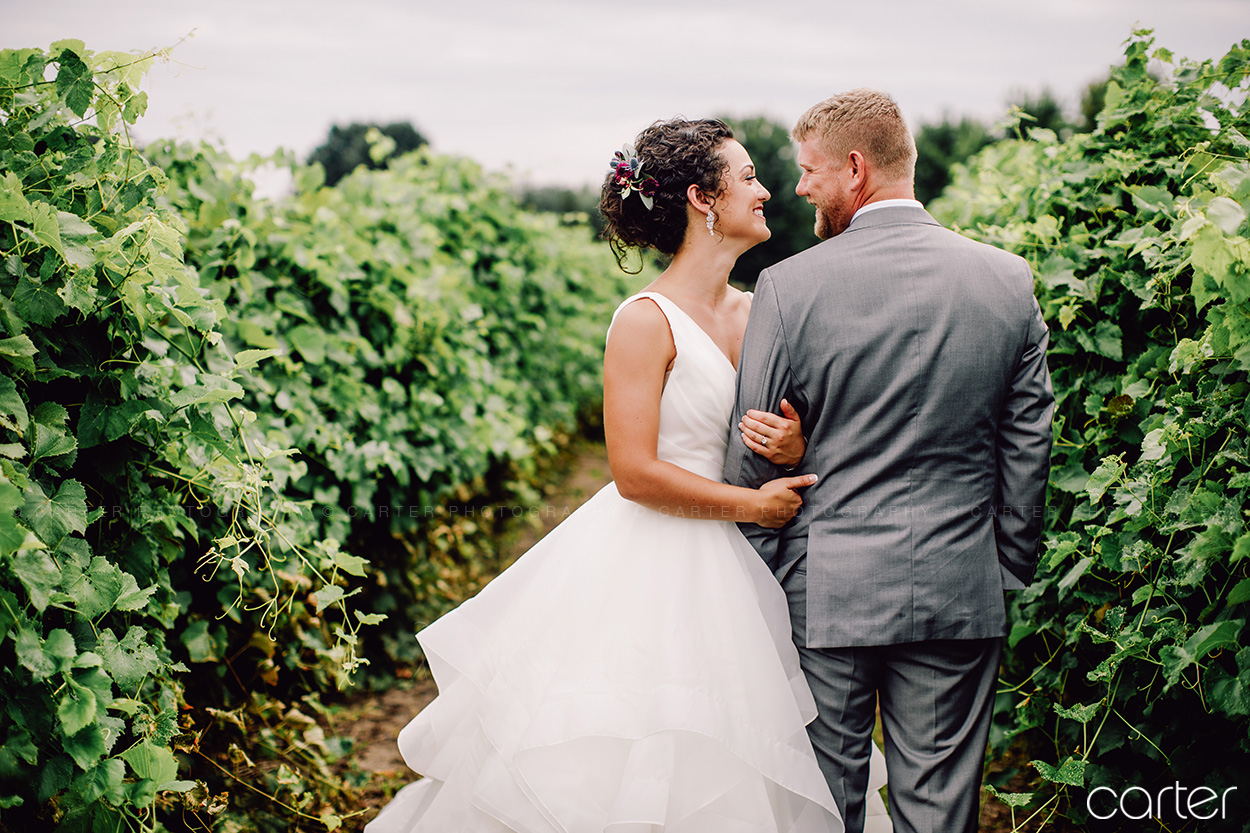 Prairie Moon Winery Wedding Pictures Ames Iowa Photographers Carter Photography