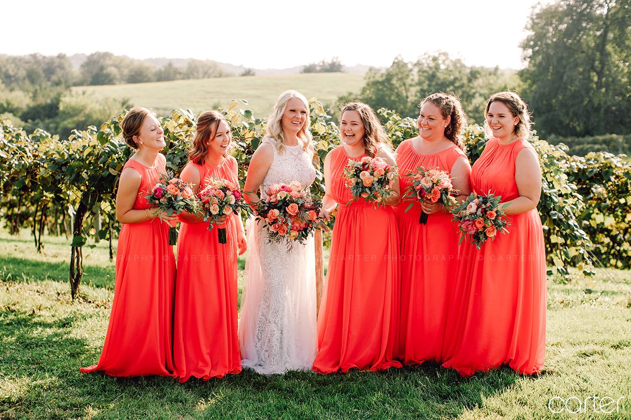 Cedar Ridge Winery Wedding Pictures Cedar Rapids Photographers Carter Photography